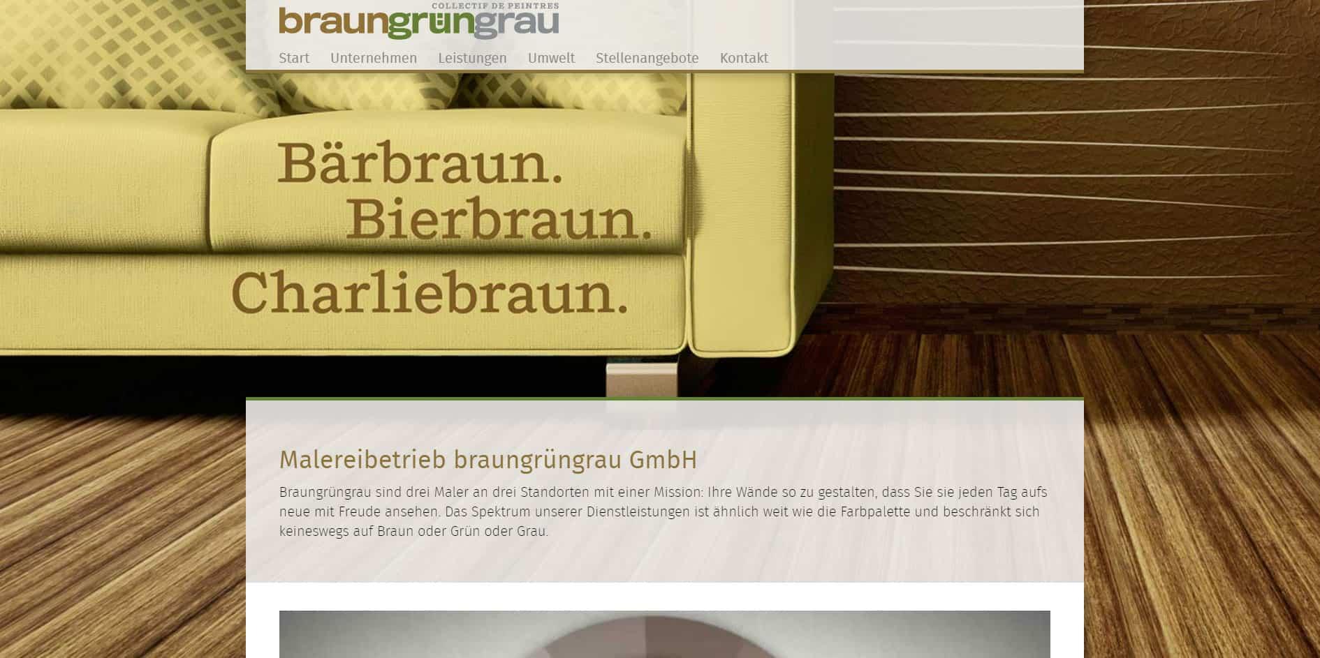 Malereibetrieb – Text für Web