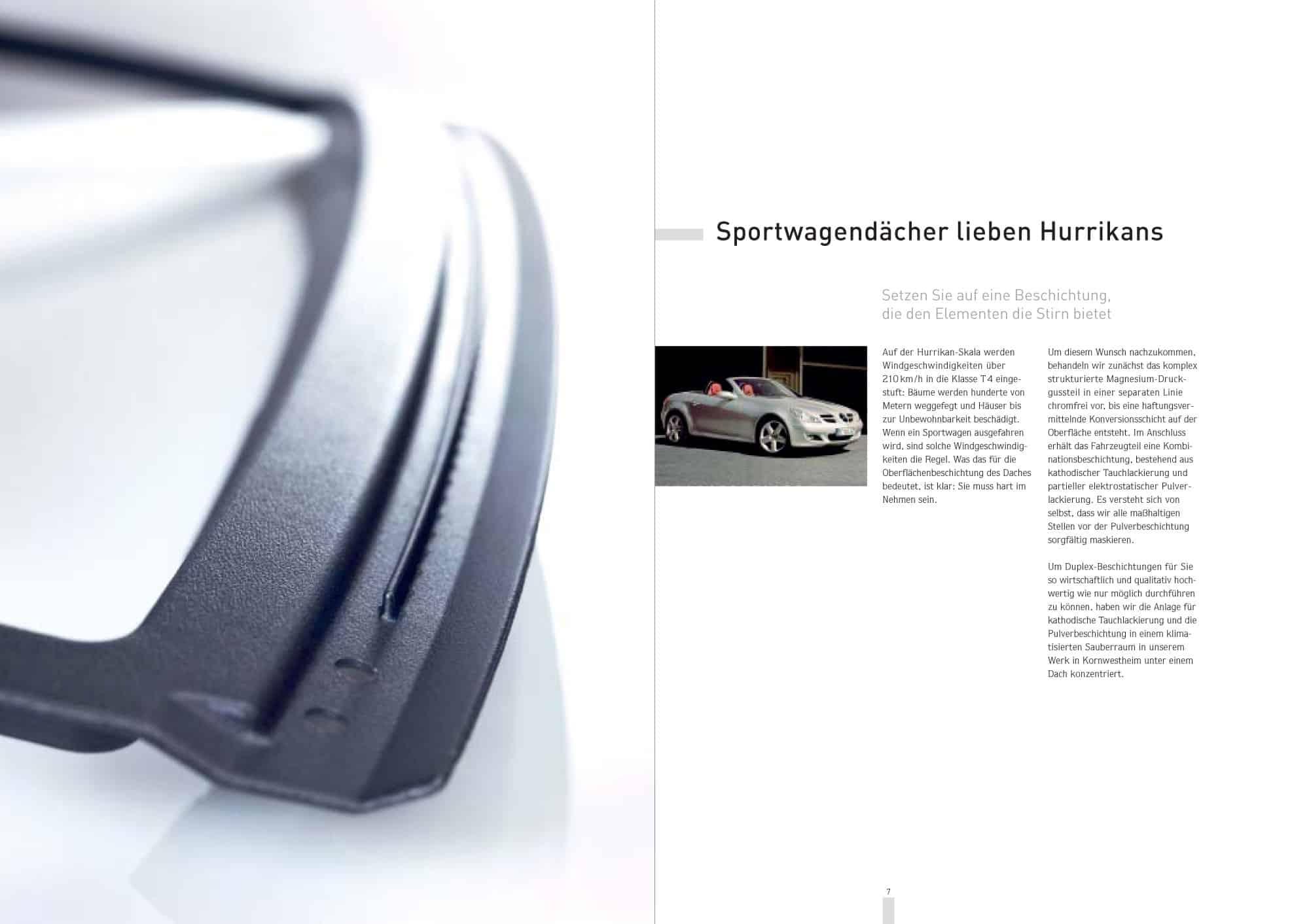 Imagebroschüre für Autozulieferer Benseler